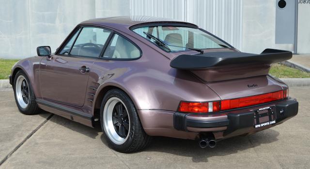 1988 Porsche 911 Turbo Slant Nose Cassis Red / Linen