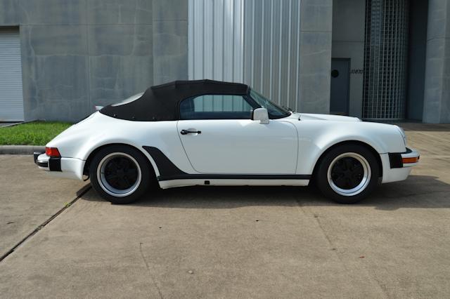 1989 911 Speedster Grand Prix White / Black