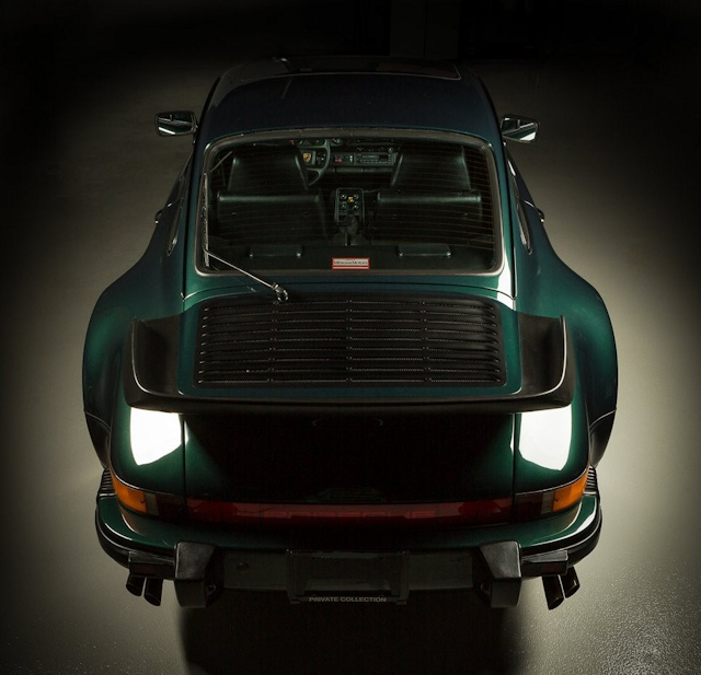 1989 Porsche 911 Turbo Slant Nose Forest Green Metallic / Black