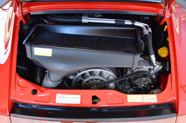1992 Porsche 964 C2 Turbo Guards Red / Cashmere