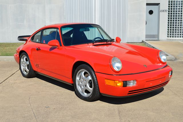 1993 Porsche 911 RS America Red / Black