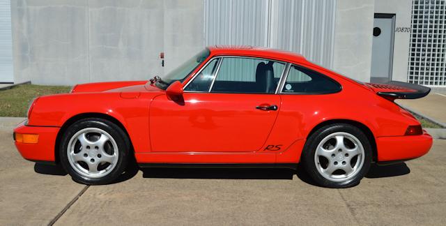 1993 Porsche 911 RS America Red / Black