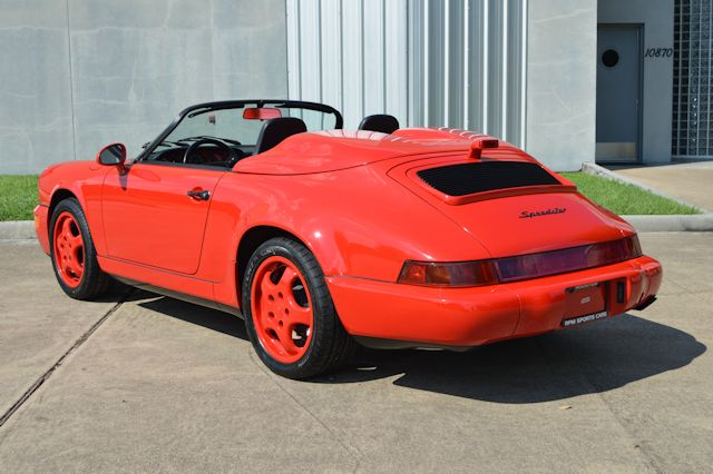 1994 Porsche 911 Speedster Guards Red / Black