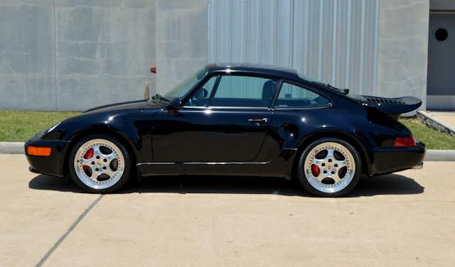 "1994 Porsche 911 3.6 Turbo ""S"" Black / Black"