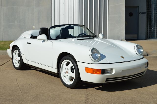 1994 Porsche 964 Speedster Grand Prix White / Black