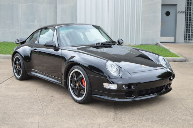 1996 Porsche 993 Turbo Black / Black