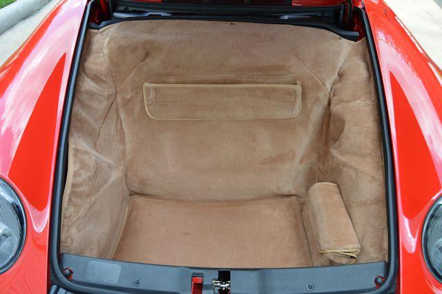 1996 Porsche 993 Turbo Guards Red / Cashmere