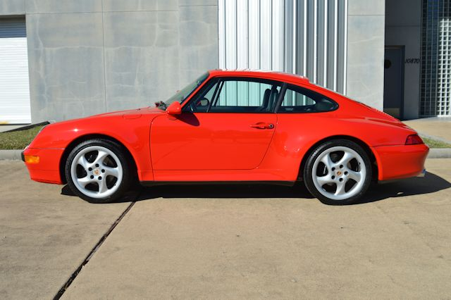 1997 Porsche 993 C2S Guards Red / Black