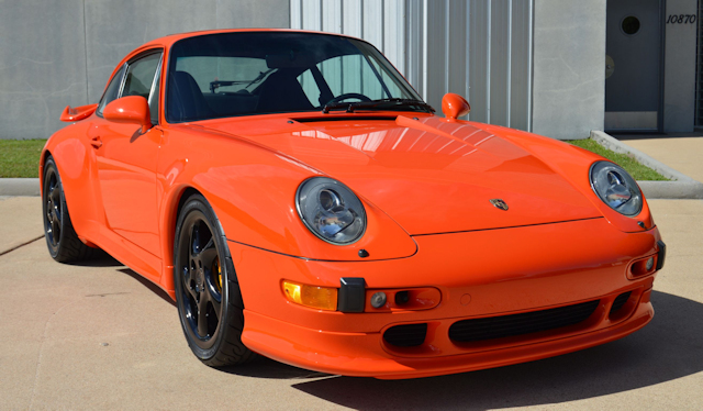 1997 Porsche 993 Turbo Andial 3.8 Blood Orange / Black