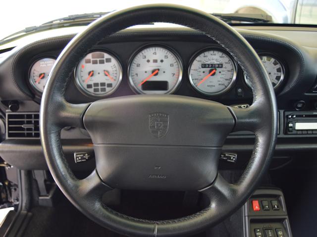 1997 Porsche 993 Turbo Andial 3.8 Black / Black