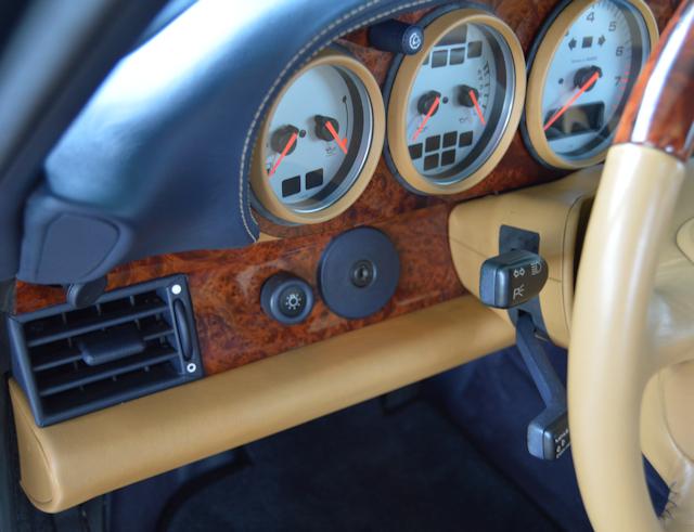 1997 Porsche 993 Turbo S Dark Blue / Cashmere