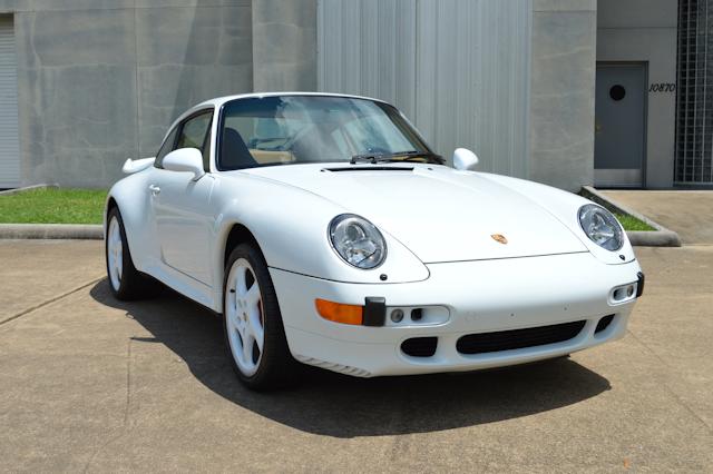 1997 Porsche 993 Turbo X50 Glacier White / Cashmere