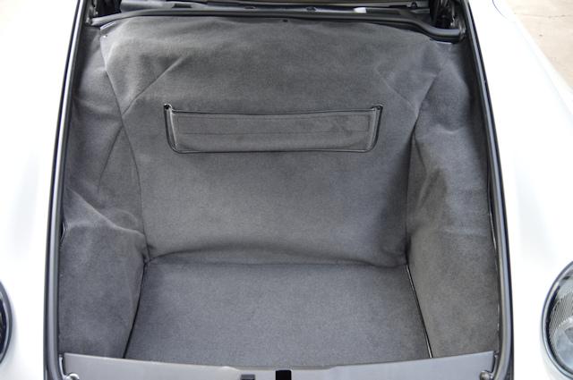 1997 Porsche 993 Turbo Andial 3.8 Arctic Silver / Classic Grey