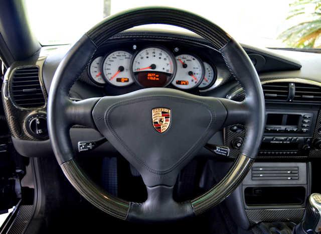 2002 Porsche 996 GT2 Black / Black