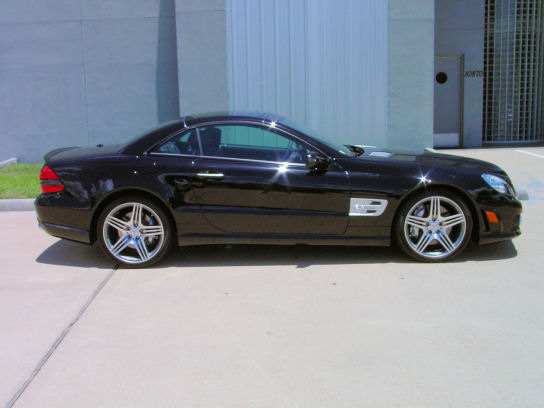2009 Mercedes-Benz SL63 Black / Black