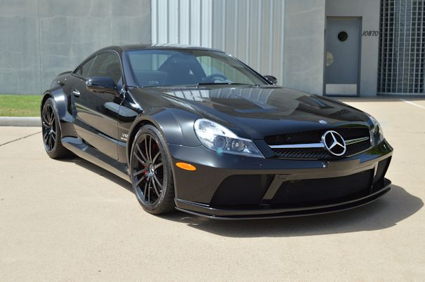 2009 Mercedes-Benz SL65 AMG Black Series Black / Black