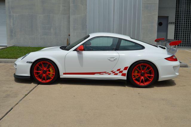 2010 Porsche 997 GT3 RS Carrara White / Black