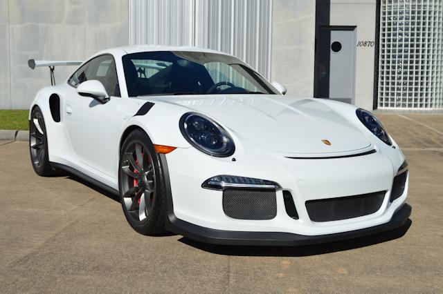 2016 Porsche 911 GT3 RS White / Black