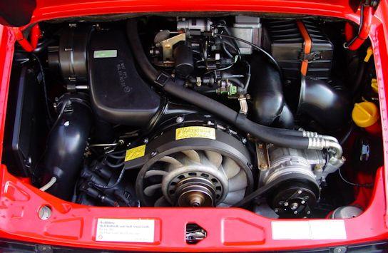 1992 Porsche 911 Targa Guards Red / Cashmere