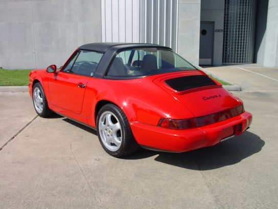 1992 Porsche 911 Targa Guards Red / Cashmere