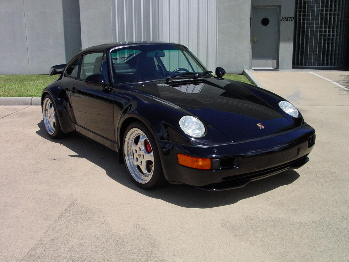 "1994 porsche 911 3.6 turbo ""s"" flat nose"