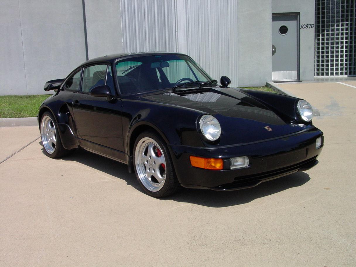 "1994 porsche 911 3.6 turbo ""s"" package"
