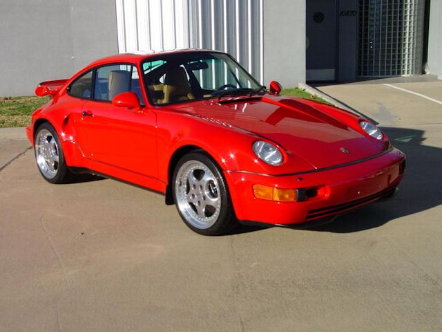 1994 Porsche 911 3.6 Turbo Guards Red / Cashmere