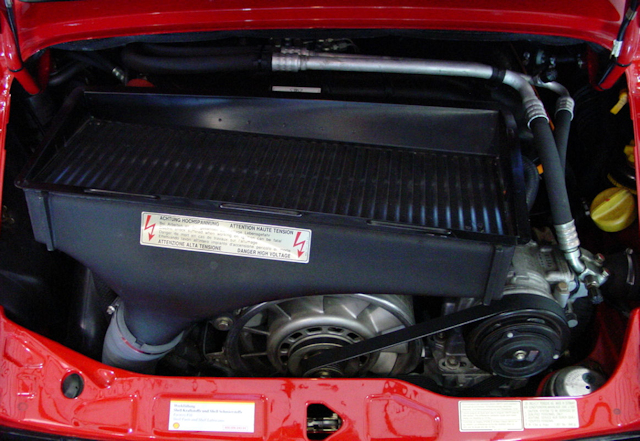1994 Porsche 3.6 Turbo Guards Red / Cashmere